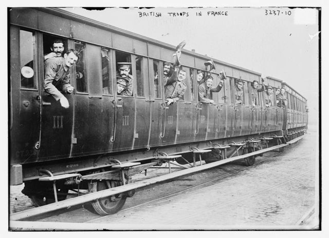 British troops in France