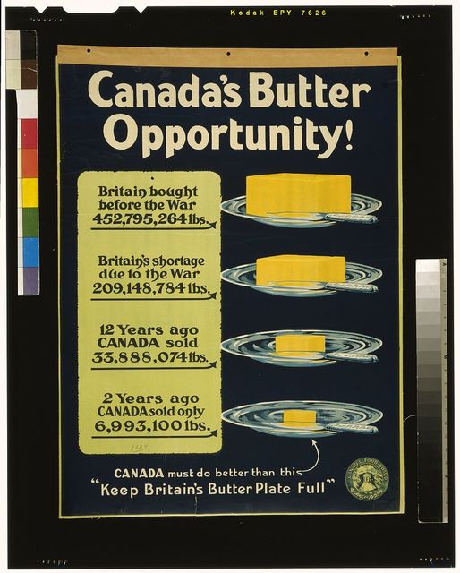 Canada's butter opportunity