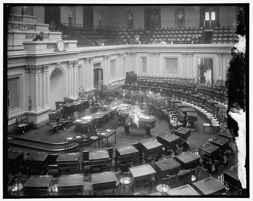 Casket in Capitol