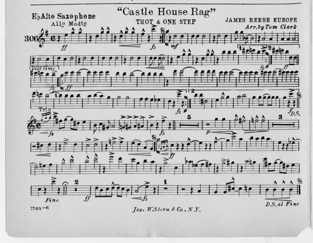 Castle house rag