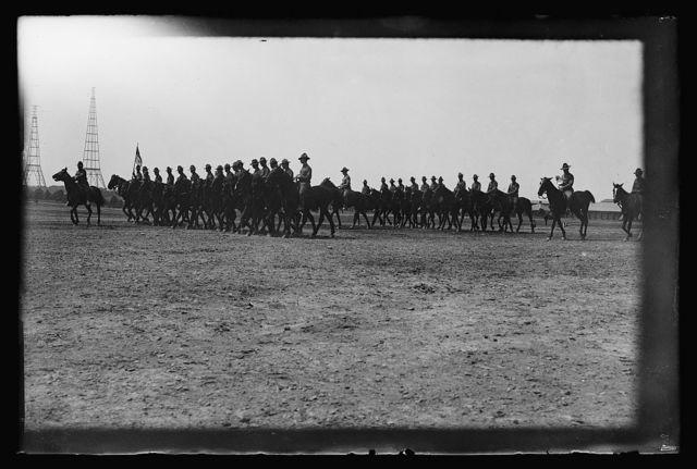 Cavalry troop, Ft. Myer, [Arlington, Virginia], 6/24/14