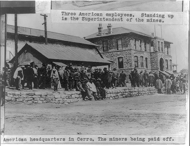 [Cerro de Pasco, Peru. March 1914. Copper mine.]