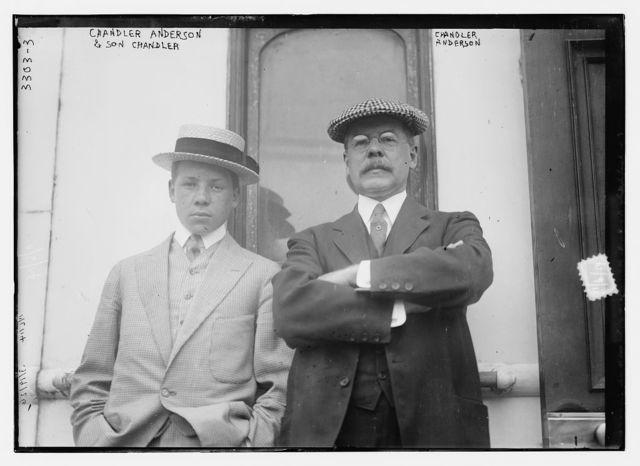 Chandler Anderson & son, Chandler