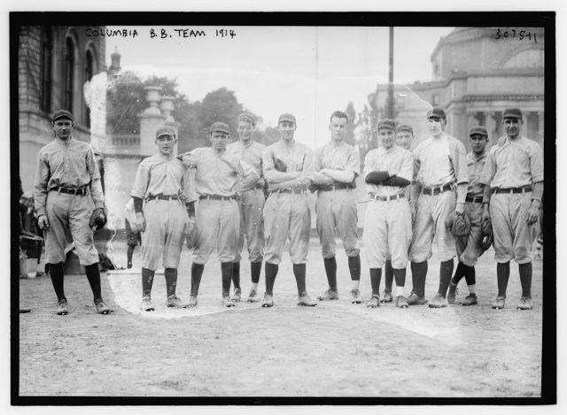Columbia B.B. team 1914