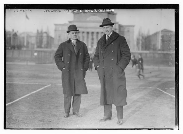 Columbia coaches A. Howe & Chas. Hann