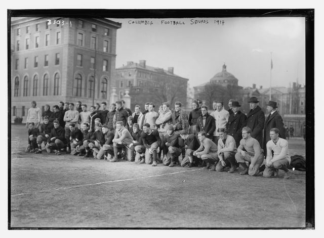 Columbia football squads, 1914