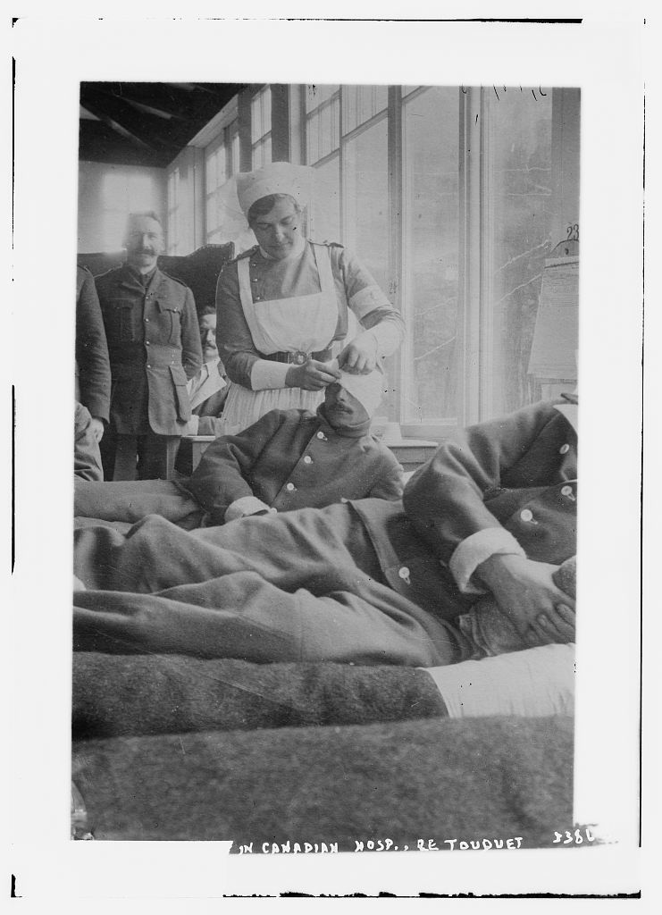 [Corp. J. Mant] in Canadian Hosp. [i.e., Hospital], Le Touquet