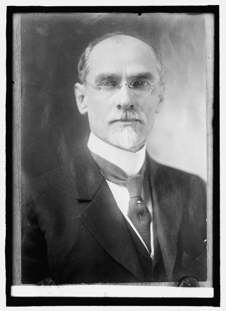 Dr. Hugh M. Smith, Com. of Fisheries, 1914