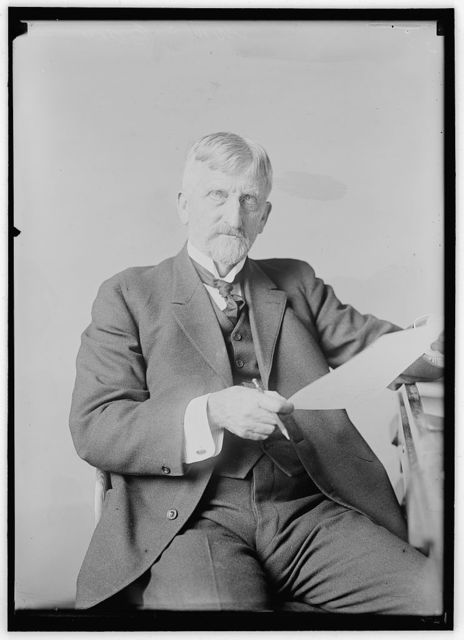 EDES, WILLIAM CUSHING. CIVIL ENGINEER; CHAIRMAN, ALASKAN ENGINEERING COMMISSION, 1914