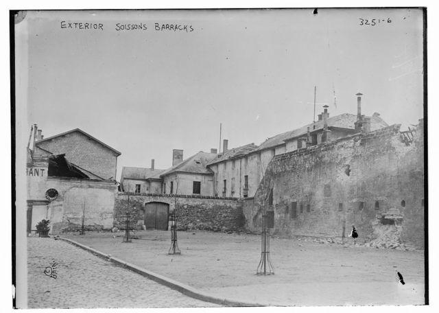 Exterior Soissons Barracks