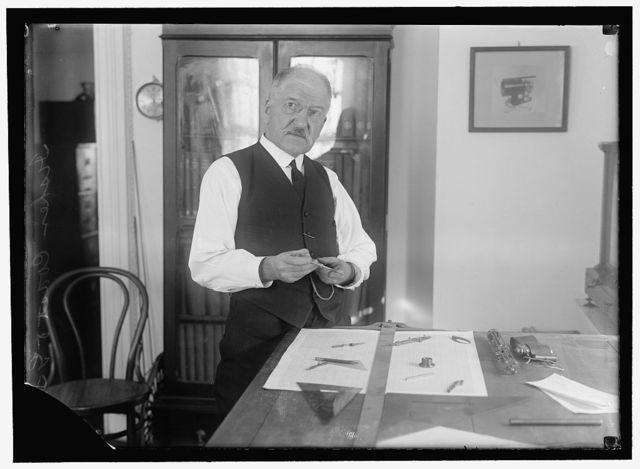 FISCHER, ERNEST GEORGE. CHIEF OF INSTRUMENT DIVISION, COASTAL GEODETIC SURVEY, 1907-1921