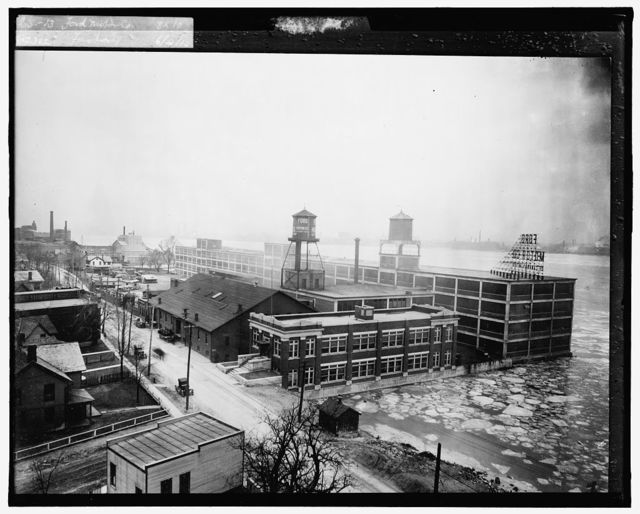 Ford Motor Co. factory, [possibly in Windsor, Ontario]