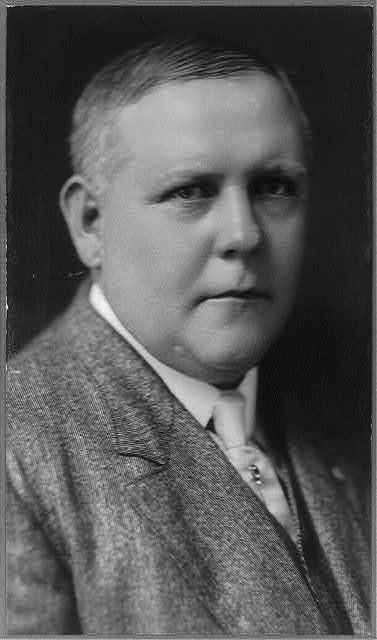 [Frank J. McNulty, 1872- , bust portrait, facing right]