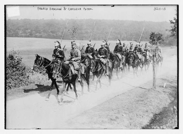 French Dragoon & Chasseur Patrol
