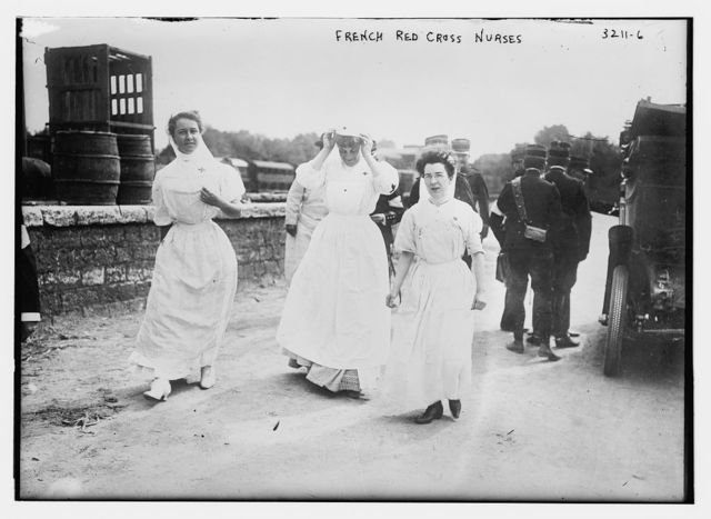 French Red Cross nurses