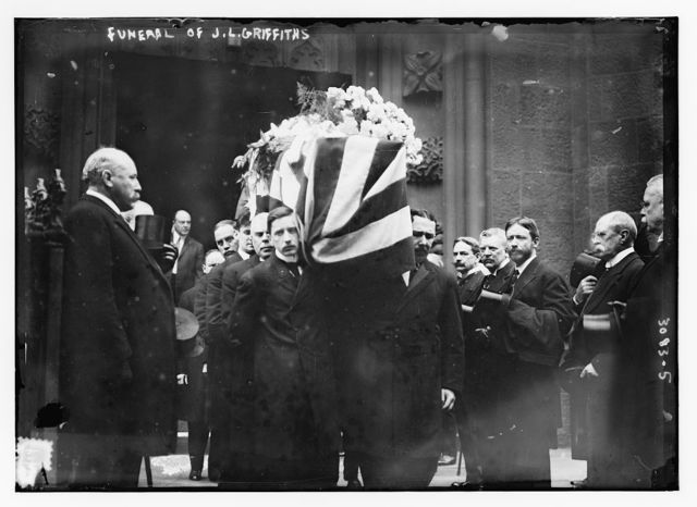 Funeral of J.L. Griffiths