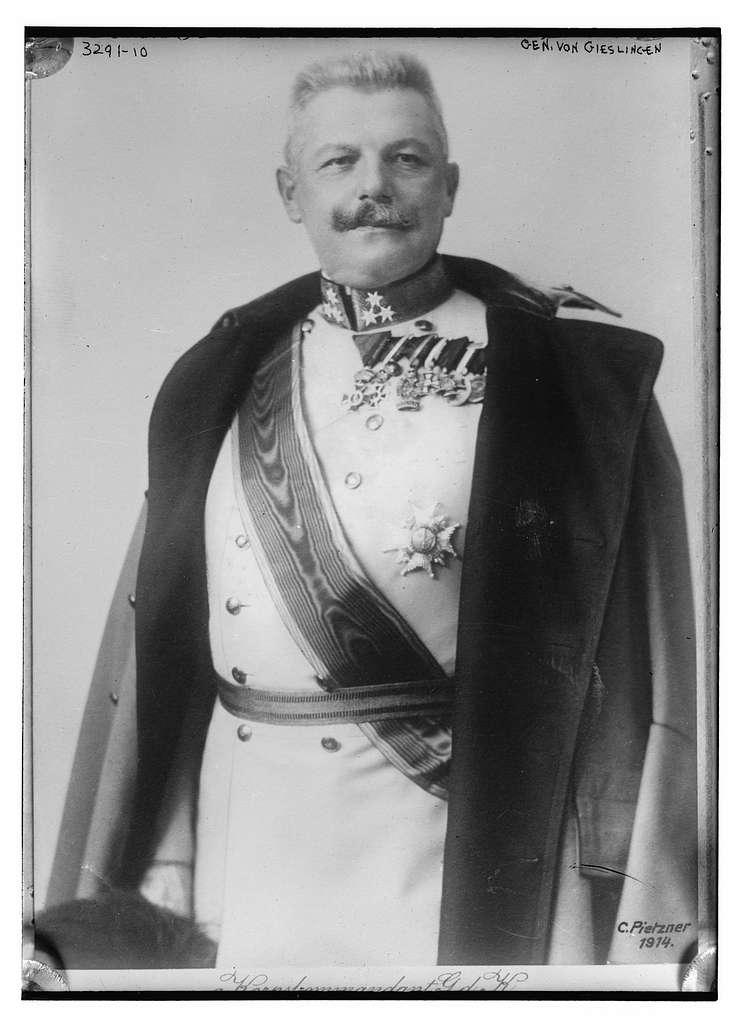 Gen. von Gieslingen