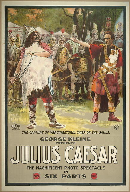 George Kleine presents Julius Caesar The magnificent photo spectacle in six parts.