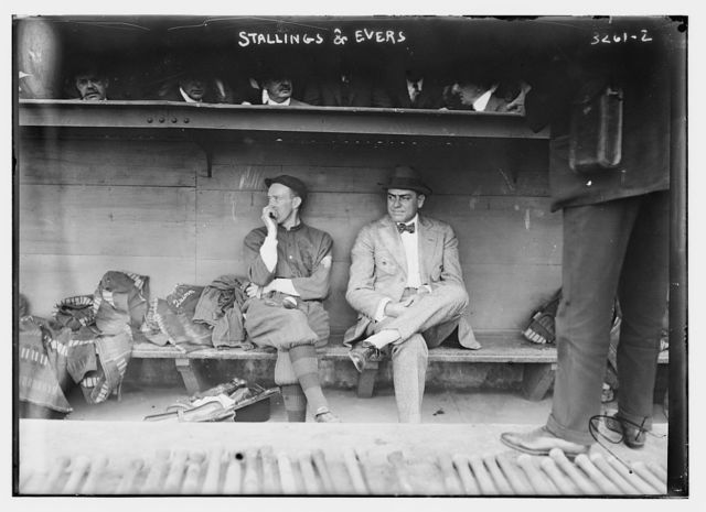 [George Stallings, manager, & Johnny Evers, player, Boston NL (baseball)]