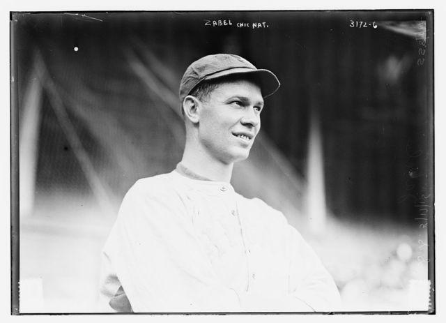 "[George ""Zip"" Zabel, Chicago NL (baseball)]"