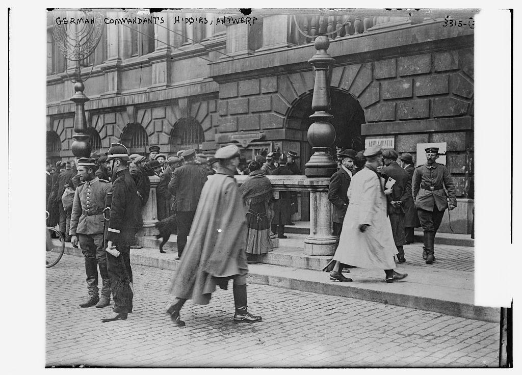 German Commandant's Hdqtrs., Antwerp