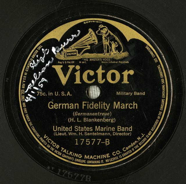 German fidelity march
