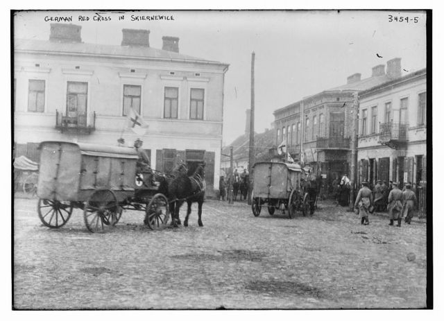 German Red Cross in Skiernewice