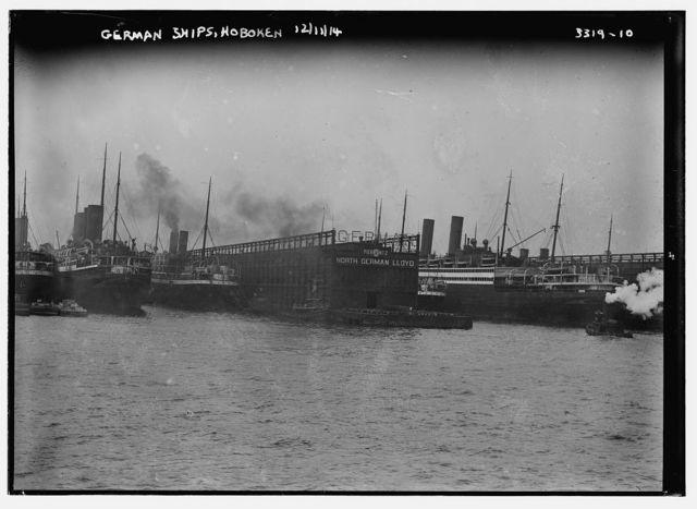 German Ships, Hoboken, 12/11/14