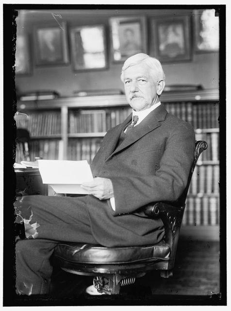GORGAS, WILLIAM CRAWFORD. SURGEON GENERAL, U.S.A.