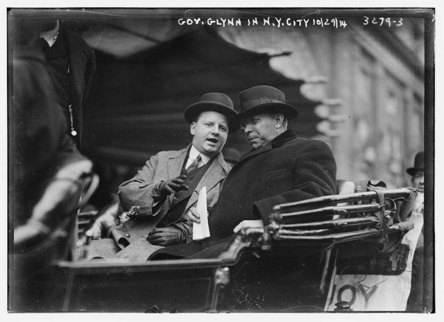 Gov. Glynn in N.Y.C., 10/29/14