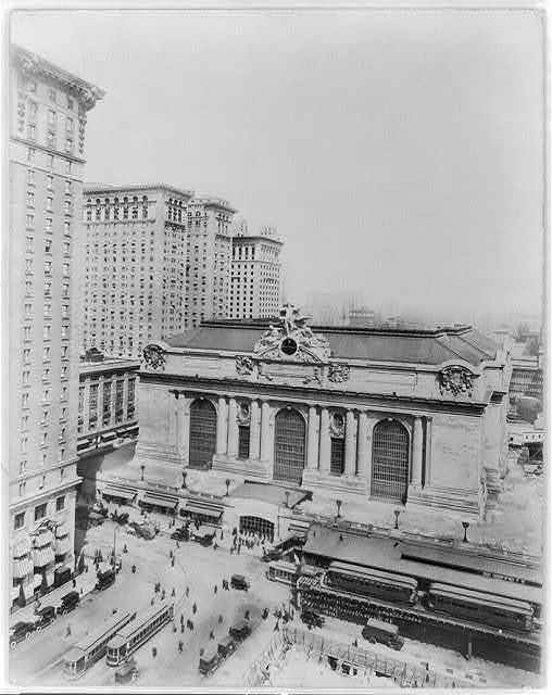 Grand Central Depot, Park Ave. and 42nd St., New York City