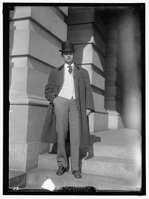 HARDWICK, THOMAS WILLIAM. REP. FROM GEORGIA, 1902-1914; SENATOR, 1914-1919; GOVERNOR, 1921-1923