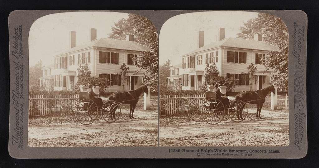 Home of Ralph Waldo Emerson, Concord, Mass