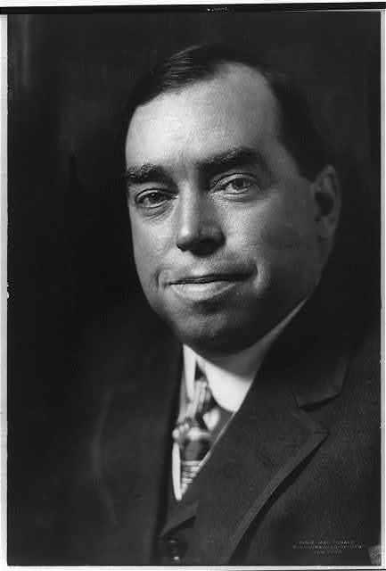 [Irvin S. Cobb, bust portrait]