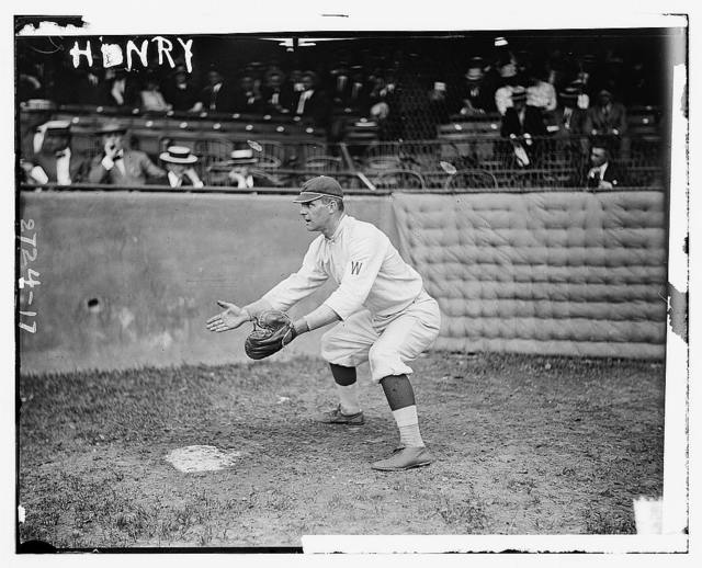[John P. Henry, Washington AL, at Griffith Stadium, Washington (baseball)]