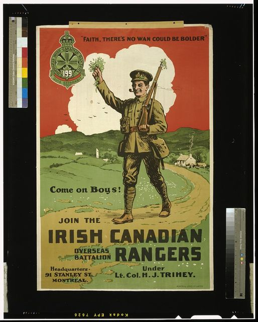 Join the Irish Canadian Rangers Overseas Battalion