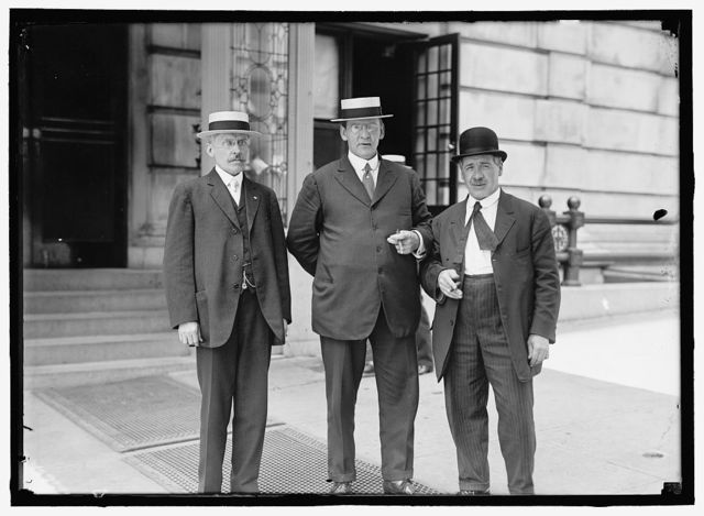 LABOR, DEPT. OF. A.L. FAULKNER OF IMMIGRATION; CHARLES W. MILLS; PATRICK GILDAY, COMMR. OF CONCILIATION