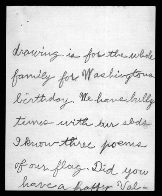 Letter from Baker Wier Bonnell to Alexander Graham Bell and Mabel Hubbard Bell, February 18, 1914