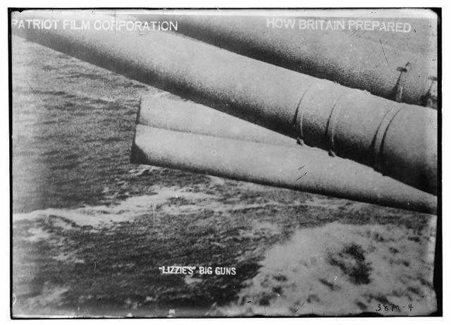 Lizzie's big guns, Patriot Film Corporation, How Britain prepared