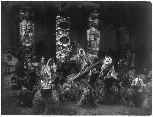 Masked dancers--Qagyuhl