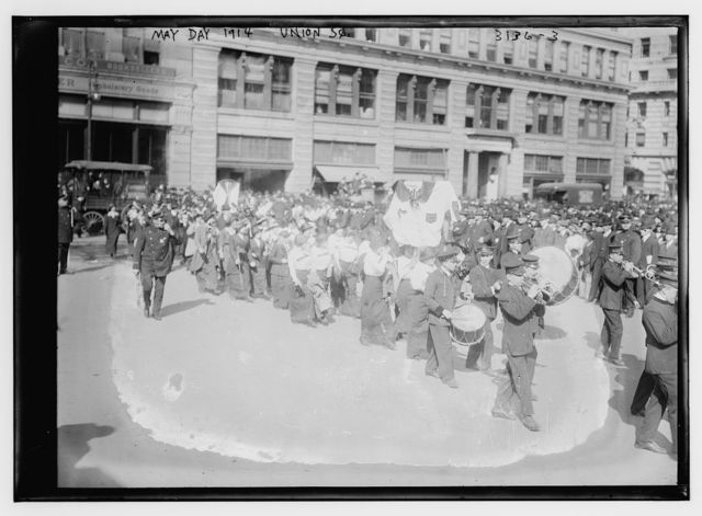 May Day 1914 -- Union Sq