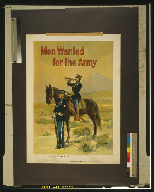 Men wanted for the army / Michael P. Whelan.