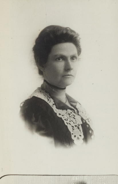 Miss Ada James of Wisconsin is one of the prominent members of the Advisory Council of the Congressional Union for Woman Suffrage.  Miss James was formerly President of the Political Equality League of Wisconsin.  Her prominence in that State where her father has been a well known member of the State Legislature, has enabled her to contribute greatly to the strength of the Congressional Union in that section of the country.