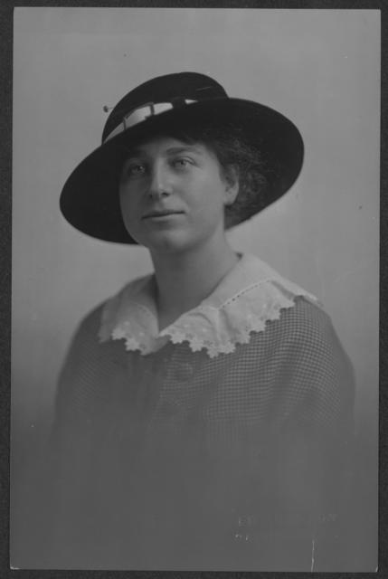 Miss Jane Pincus, Albany, N.Y., organized in the Woman's Political Union state referendum campaign.  She campaigned in Arizona two years ago for the Congressional Union for Woman Suffrage.