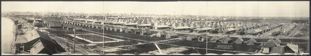 Mobilization Camp, 2nd Div. (less 5th Brigade, 11th & 22nd Inf's.), Texas City, Texas, 1914