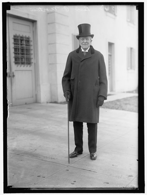 MORTON, LEVI PARSONS. REP. FROM NEW YORK, 1879-1881; U.S. MINISTER TO FRANCE, 1881- 1885; VICE PRESIDENT OF THE UNITED STATES, 1889-1893; GOVERNOR OF NEW YORK, 1895-1907