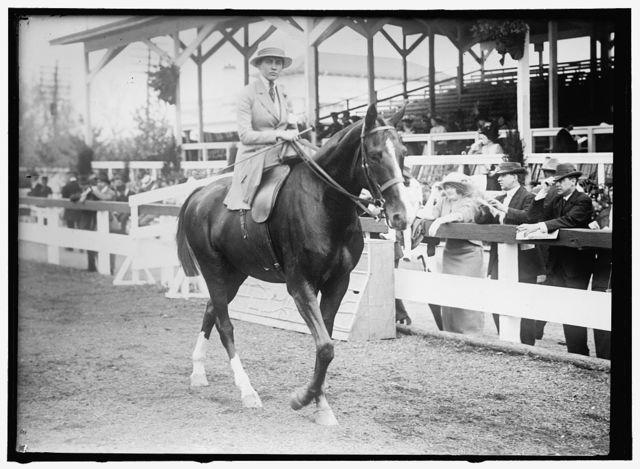 MORTON, MISS HELEN. HORSE SHOW