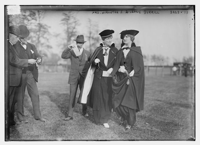 Mrs. Middleton S. & Leonie Burrill