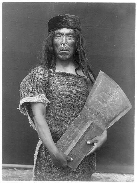 Nakoaktok chief and copper