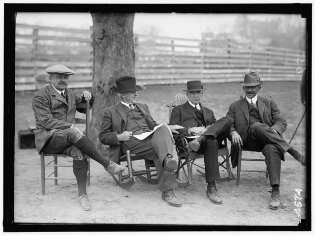 NATIONAL BEAGLE CLUB OF AMERICA. GEORGE B. POST; CHARLES F. BROOKE; LePAGE CRON-MILLER; T.D. GRIFFITH